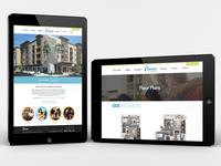 Web Design - Luxury Apartments