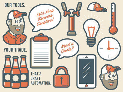 Craft Automation - Icons