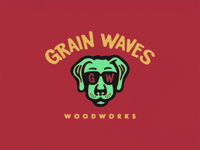 Grain Waves Woodworks - Branding