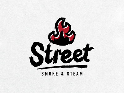 Street Smoke & Steam - Branding WIP