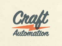 Craft Automation - Rebrand Concept