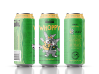 One Well Brewing - Beer Can Label - Whoppy