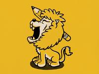 Kalamadoodle  - Lion Mascot