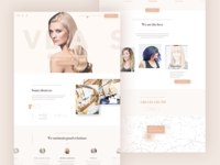 Landing page (psd) - Hairdresser