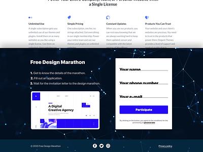 Sign Up for website plexus figma form animation sign up