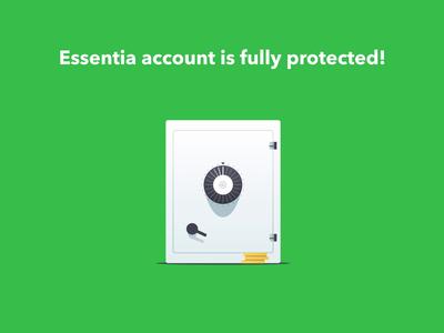 Account Security App Essentia