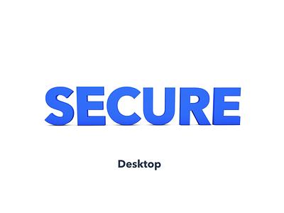 Secure App Essentia for Desktop launchpad application app desktop secure cryptocurrency crypto essentia ess animation