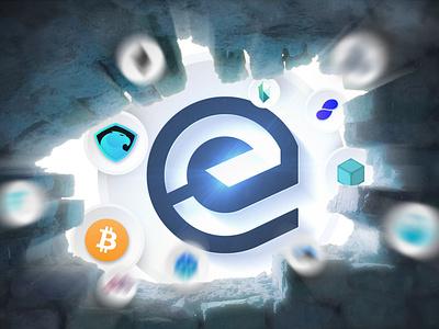 Essentia Web 3.0 - Desktop wallpaper speed wall hole cover wallpaper essentia ess cryptocurrency crypto