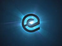 Essentia Light Effect 3D - Desktop wallpaper darkblue blue light wallpaper essentia ess cryptocurrency crypto