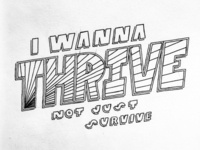 Thrive – Typography