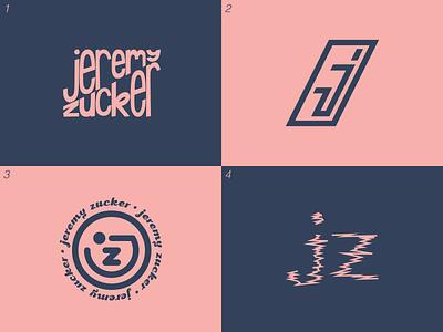 Jeremy Zucker Icon Exploration jeremy zucker symbol exploration design typography logo icon brand identity branding
