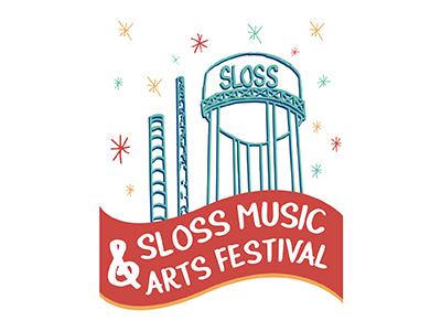 Slossfest 2017 Tshirt Design