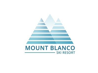 Mount Blanco Ski Resort - Daily Logo Challenge