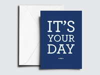 Corporate Birthday Card Design for Financial Firm