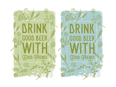 Craft Beer Poster