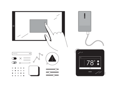 Stay Connected hub connected multichannel bw tablet
