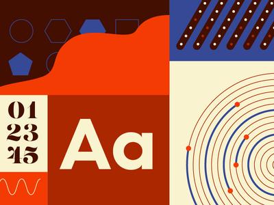 Brand Elements brand guidelines data viz illustrator banner branding on brand