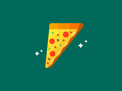 Pizza pepperoni vector food pizza
