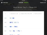 Pacenotes race