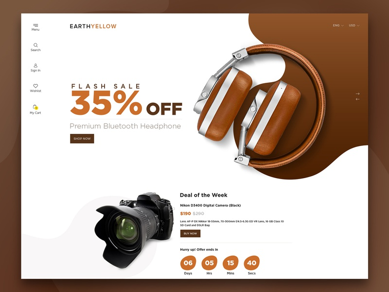 Electronics E-Commerce electronics store creative  design theme design themeforest ui website design ecommence