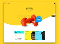 Gym Products E-Commerce