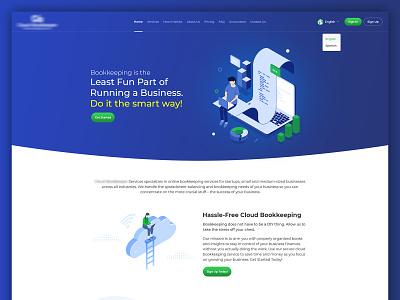 Landing page design ui website creative website illustration design creative  design ecommence