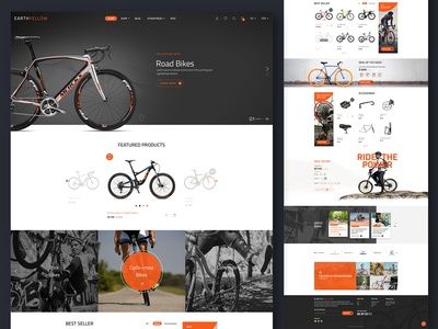Road Bikes E-Commerce