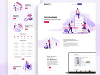 RentCo Booking Solution Landing page