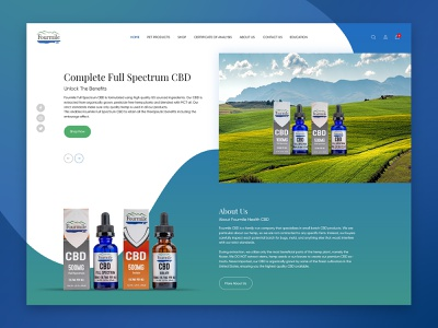 Tincture's website home page ui website creative website ecommence creative  design