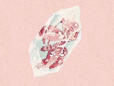 -= crystallized cuties =- time adventure cartoon drawing artwork illustration mystic magic pink crystal