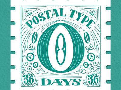 Postal Type, O: 36 Days of Type