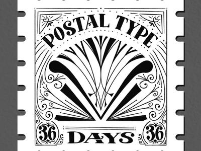 Postal Type, V: 36 Days of Type