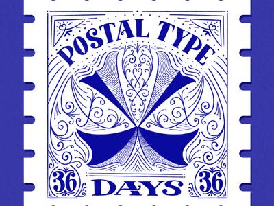 Postal Type, X: 36 Days of Type