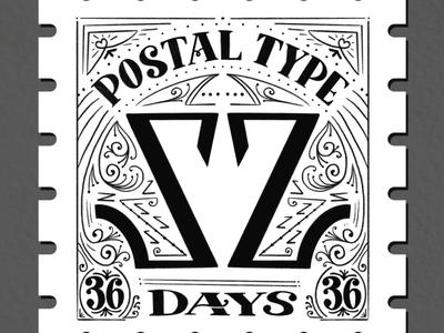 Postal Type, Z: 36 Days of Type