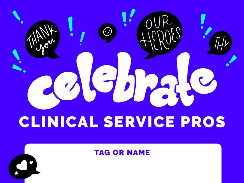 Celebrate Clinical Service Pros