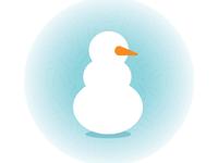 December: Snowman Reading Badge
