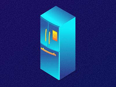 refrigerator&graphics 2.5dgraphics