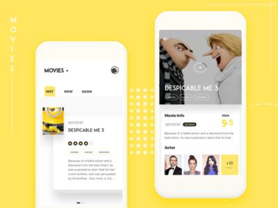 Daily UI & Movie Info