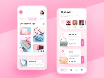 Pink Handbag app