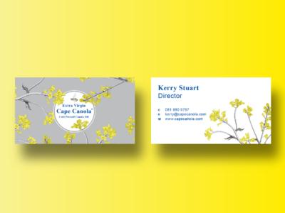 Cape Canola Business Cards