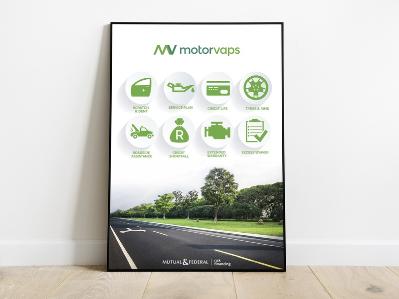 Motorvaps Poster layout icons corporate corporate design poster branding design