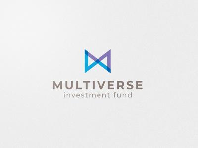 Multiverse Logo design funds investment icon adobe ilustrator design vector logo
