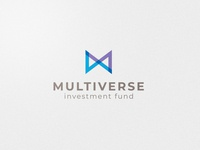 Multiverse Logo design funds investment icon adobe ilustrator design vector logo