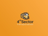 4th Sector Transportation Logo Design concept