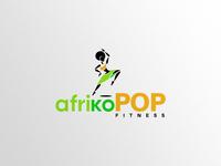 afrikoPOP Logo Design