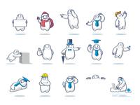 """Cloud Man"" Mascot Set"