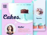 Non-Profit Backery - Web Design Concept