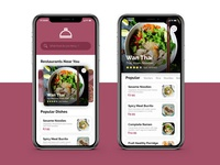 Dinner Bell - Minimalist Food Delivery and Takeaway App