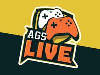 AGS Live Logo Design