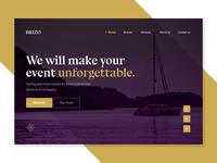 Luxury Boats Website Concept